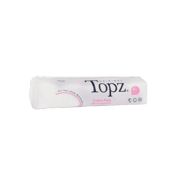 Topz Make Up Pads Recycled Plastic 80 pcs
