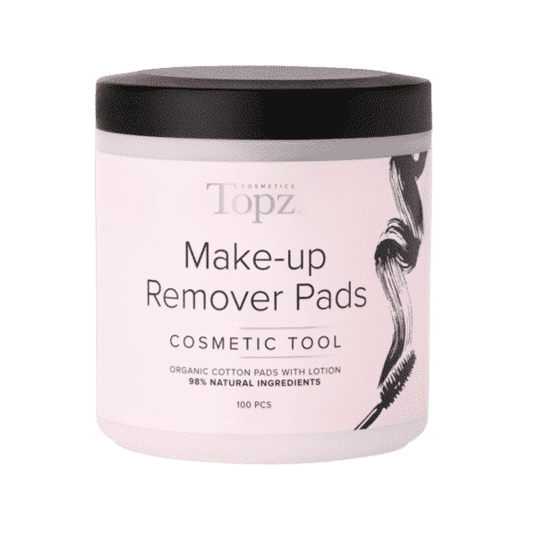 Topz Make Up Remover Pads Cosmetics 100 st