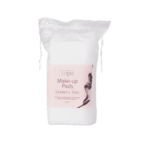 Topz Square Make Up Pads Cosmetics 50 st
