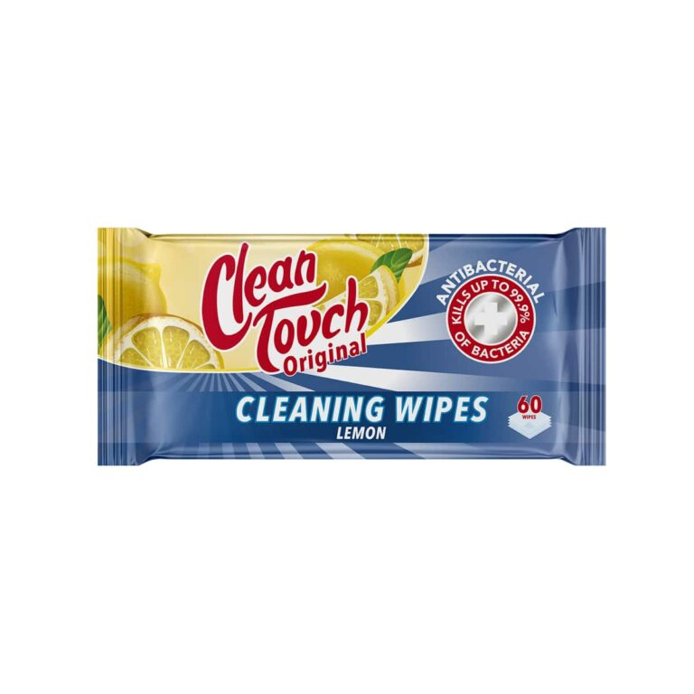 Clean Touch Cleaning Cloths Lemon 60 pack