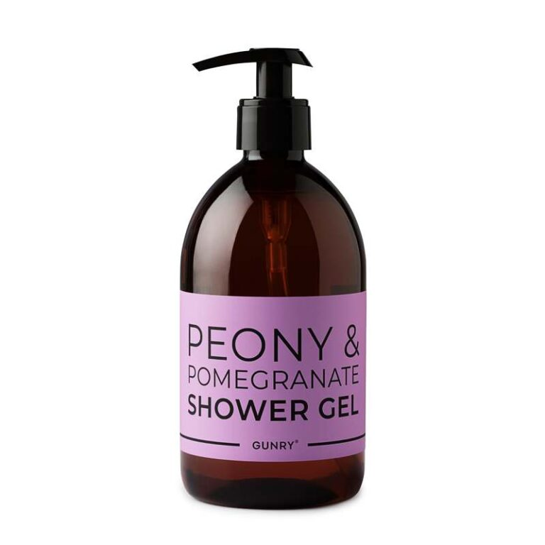 Colorful Shower Gel Peony & Pomegranate