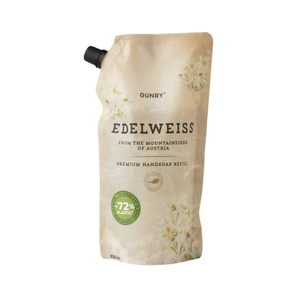 Gunry Flytande Handtvål Refill Scents of the world Edelweiss 500ml