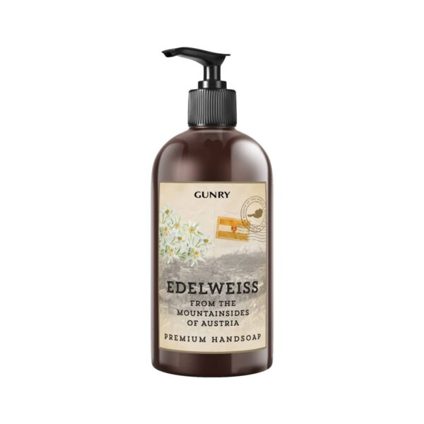 Gunry Flytande Handtvål Scents of the world Edelweiss 500ml