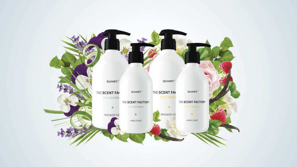 Gunry The Scent Factory Shower soap and hand soap