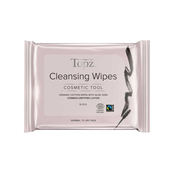 Topz Cleansing Wipes Cosmetics 15st