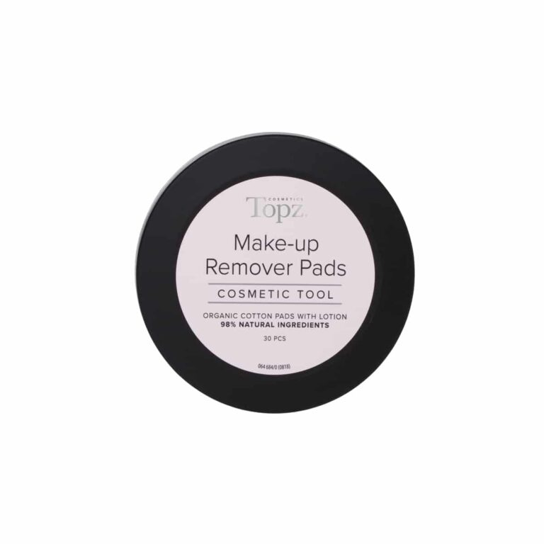 Topz Make Up Remover Pads Cosmetics 30st